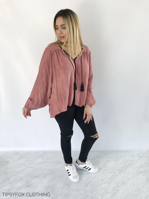 Pink Cassis Top
