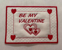 Be My Valentine Mug Mat 5 x 7