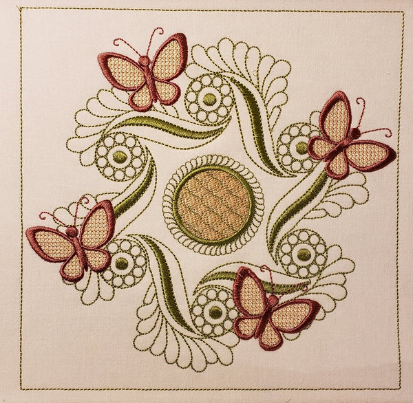 Butterfly Spin 6 x 6