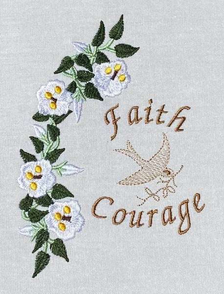 Faith Courage 5 x 7
