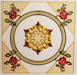 Golden Quilt Block Set 8 x 8