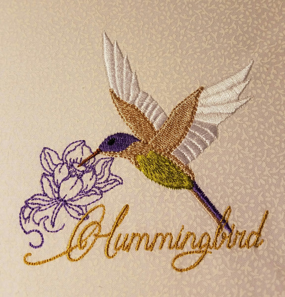 Hummingbird Two 6 x 6