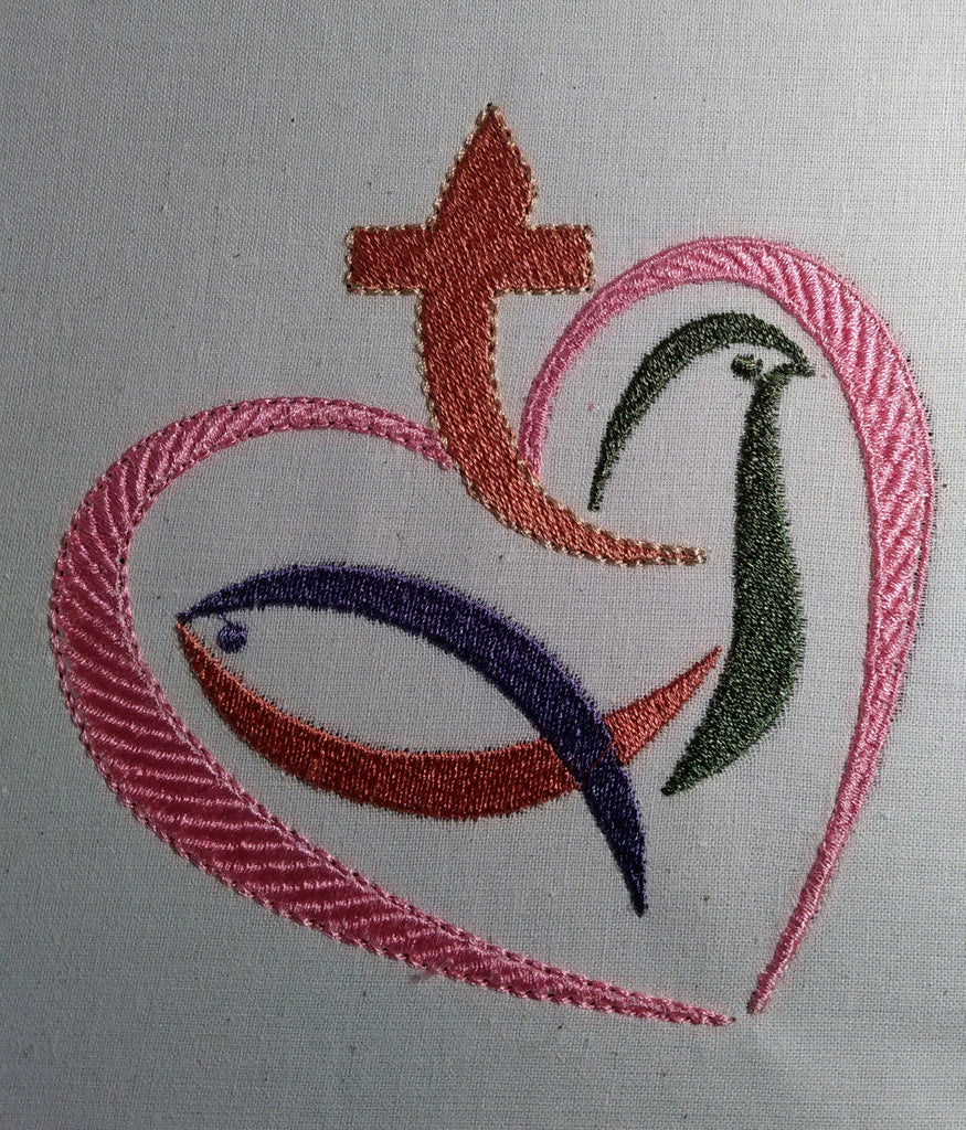 Christian Heart design