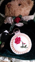 Red Rose Fob