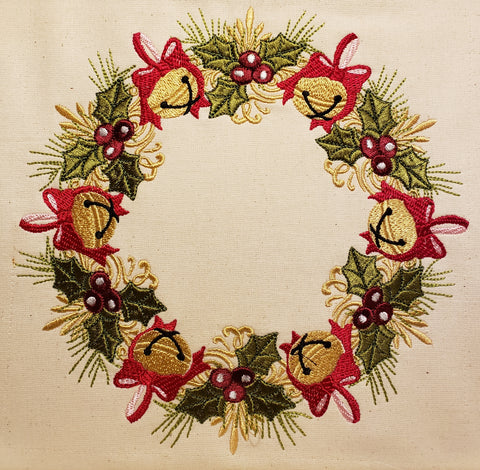 Christmas Wreath 8 x 8