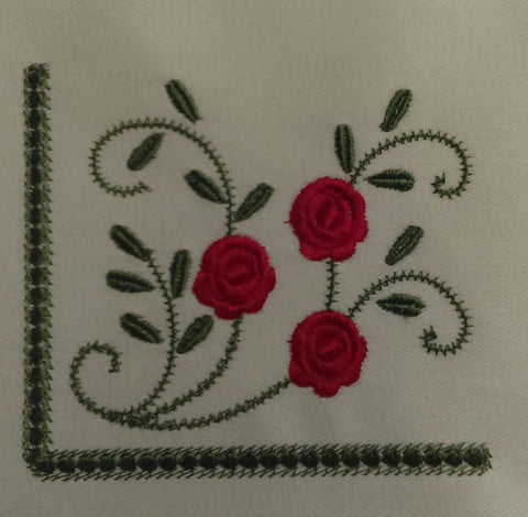 Rose Side Border