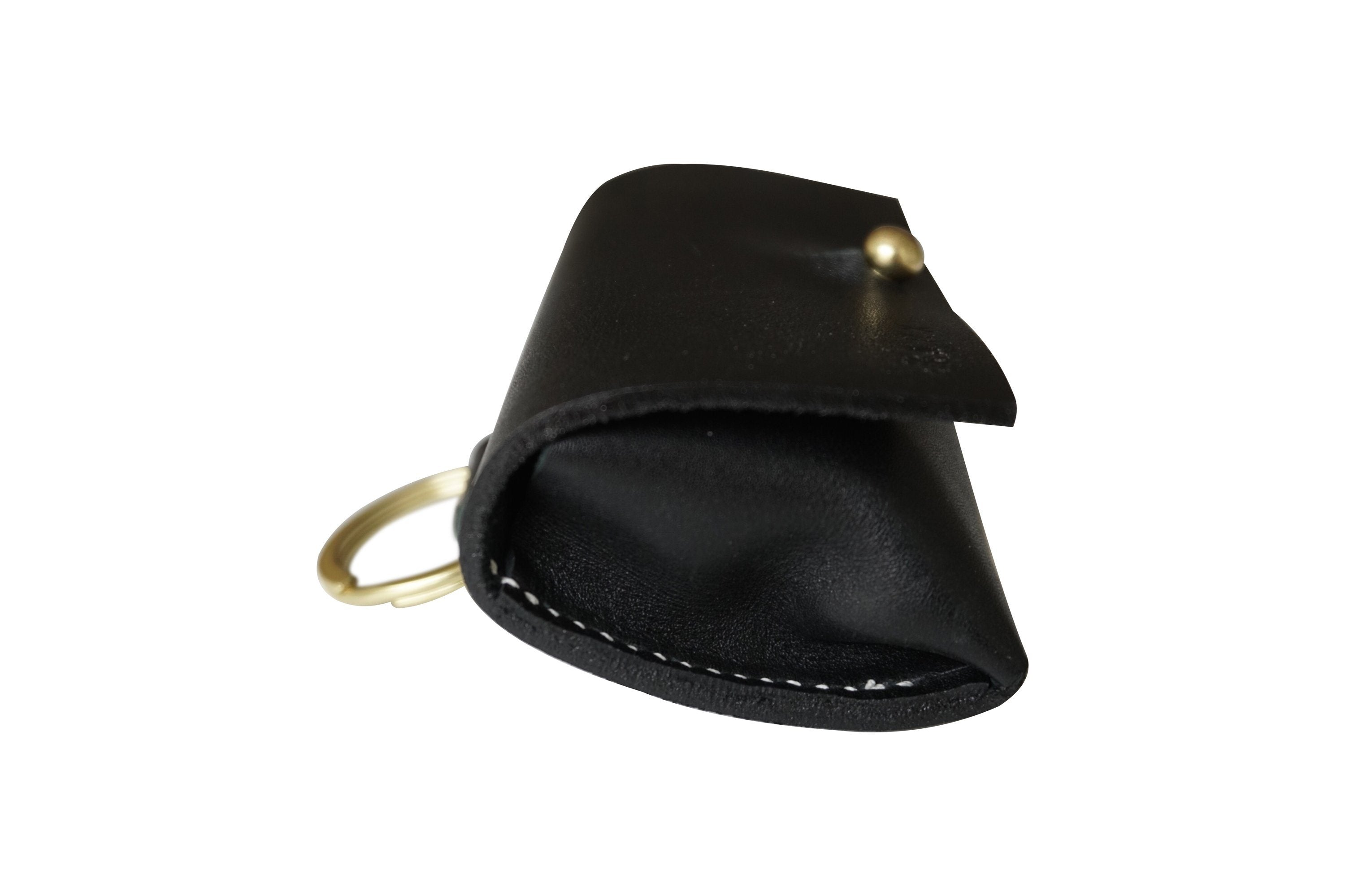 Black and Gold Leather Bag Dispenser - SHOP HARX