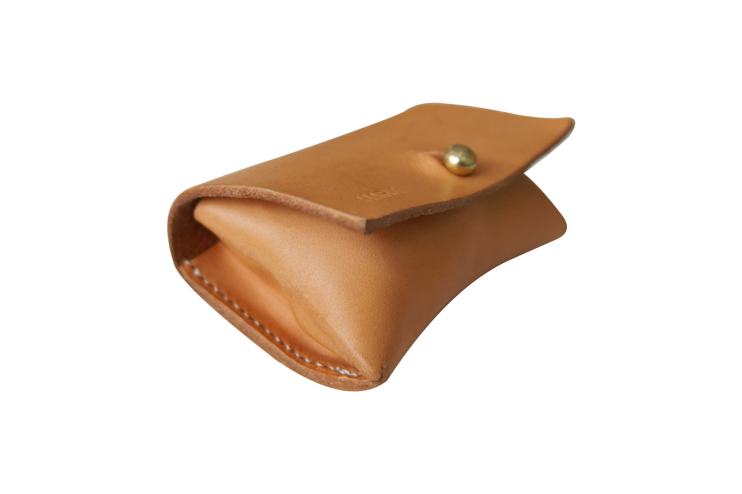 Natural Leather Bag Dispenser - SHOP HARX