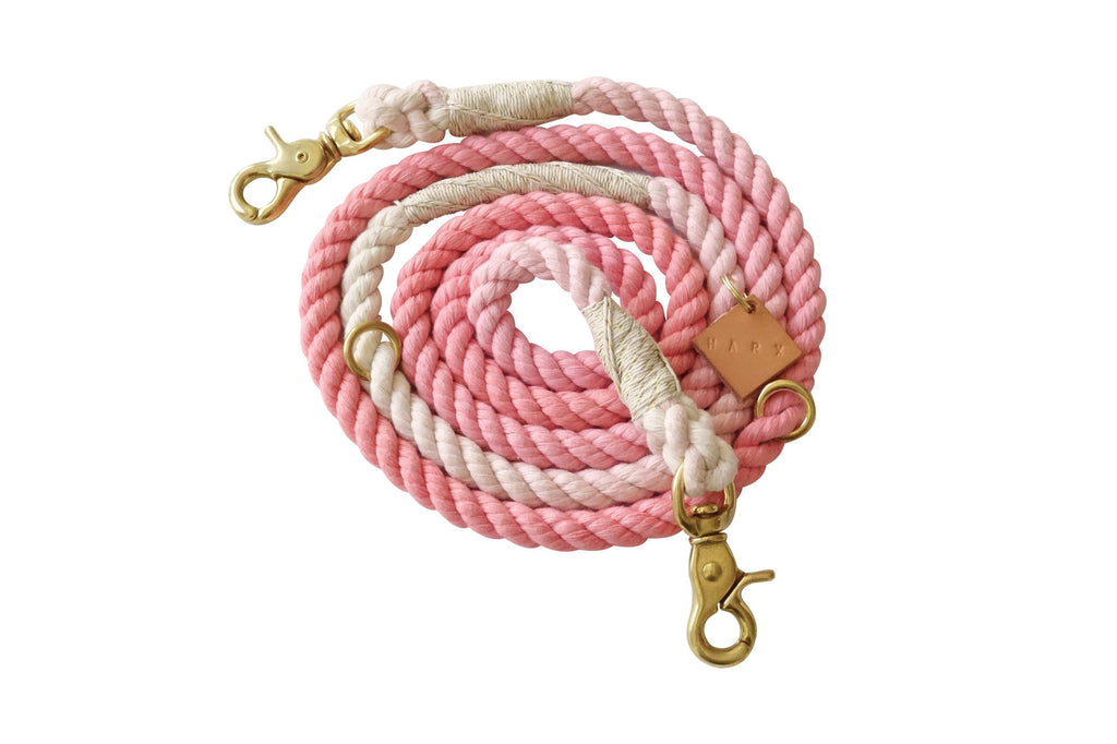 Limited Edition Rose Gold Rope Leash