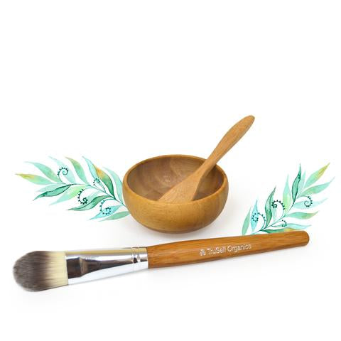 Bamboo Utensil Set by TruSelf Organics