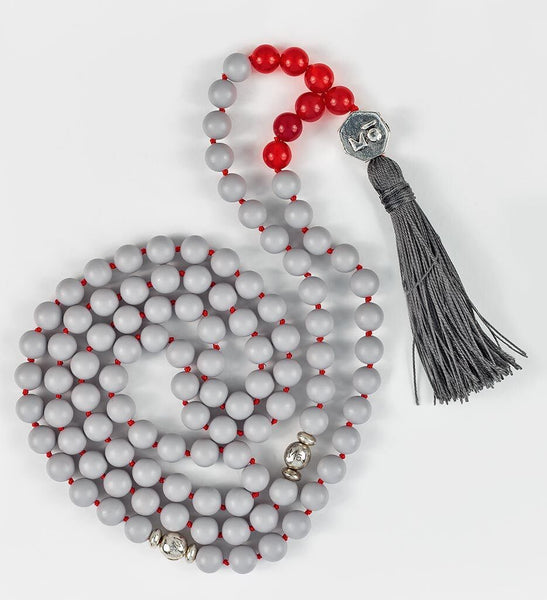 COOL GRAY Mala in VITALITY