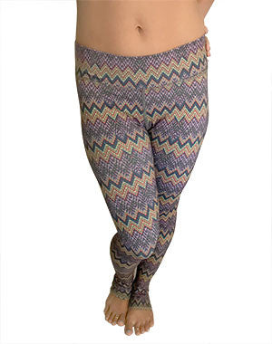 Chevron Leggings by OMSTARS