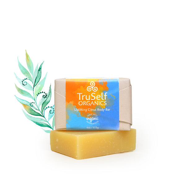 Uplifting Citrus Body Bar by TruSelf Organics