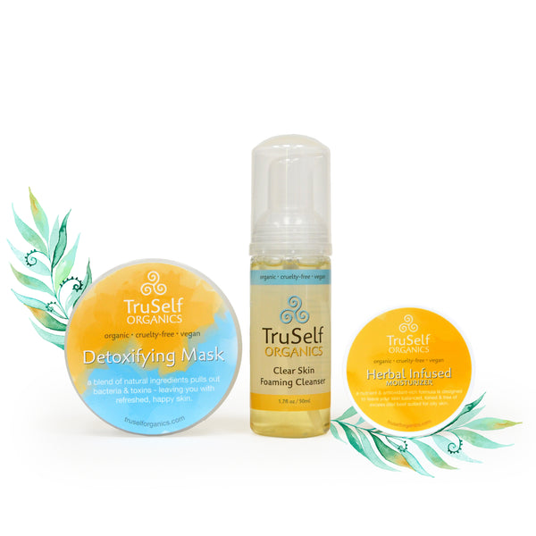 Clear Skin Kit by TruSelf Organics