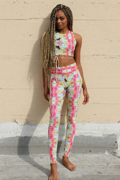 Buddha Bliss Rise Legging by Daughters of Culture