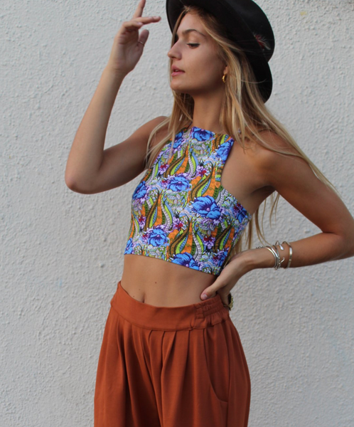 Floral Oasis Top