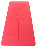 Red OMSTARS Yoga Mat by Liforme