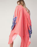 Coral Lotus Kimono by Daughters of Culture