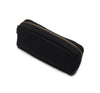 Karitco Plain Canvas Pencil Case with Brass Zipper 7.3 x 3 Inch 3 Colors