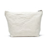 Karitco Cotton Canvas Make Up Bag with Brass Zipper Large