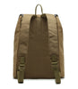 Karitco Cotton Canvas with Leather Casual Rucksack (Tan)