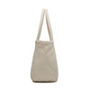 Karitco Plain Cotton Canvas Lightweight Tote with Top Handles