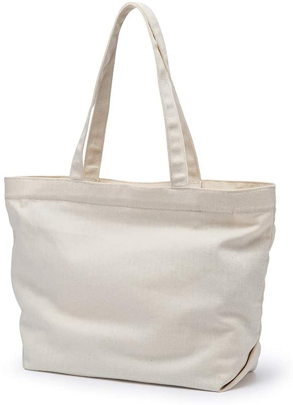 Canvas women bag ins wind summer wild niche women bag fashion soft shoulder portable tote bag (Beige)
