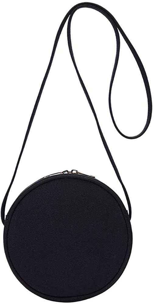 circular oblique satchel wallet, stylish circular oblique satchel hand-held bag - Karitco