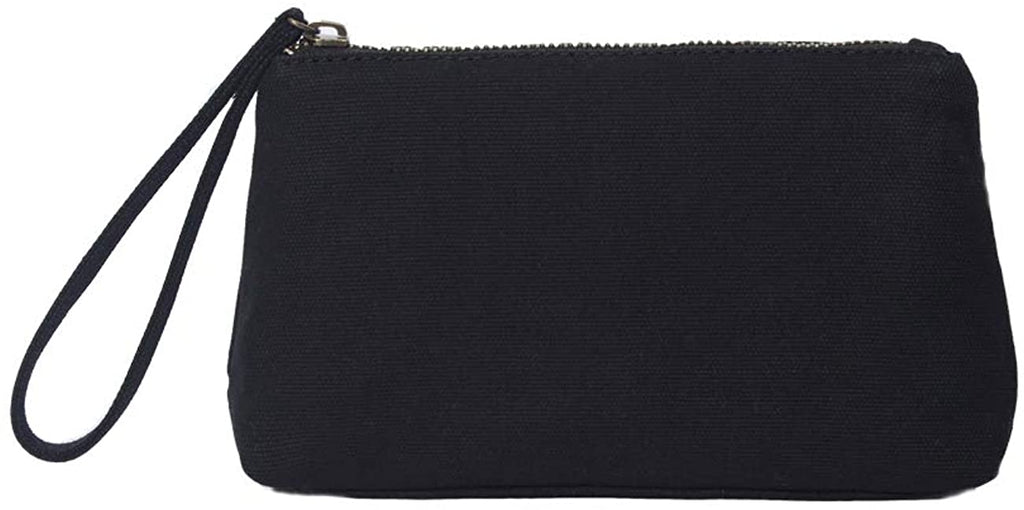 YONBEN Canvas Wristlet Bag Purse with Card Slot, Phone Pocket, Phone Pouch