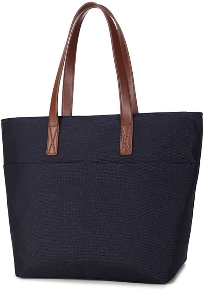 Wrok Office Tote Bag for Women Summer Large Tote Bag School Shoulder Bag (Black)