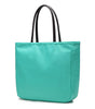 Karitco Plain Waterproof Nylon Tote with Top Handles Medium Size Shoulder Bag