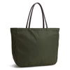 Karitco Plain Waterproof Nylon Tote with Top Handles (Army Green)