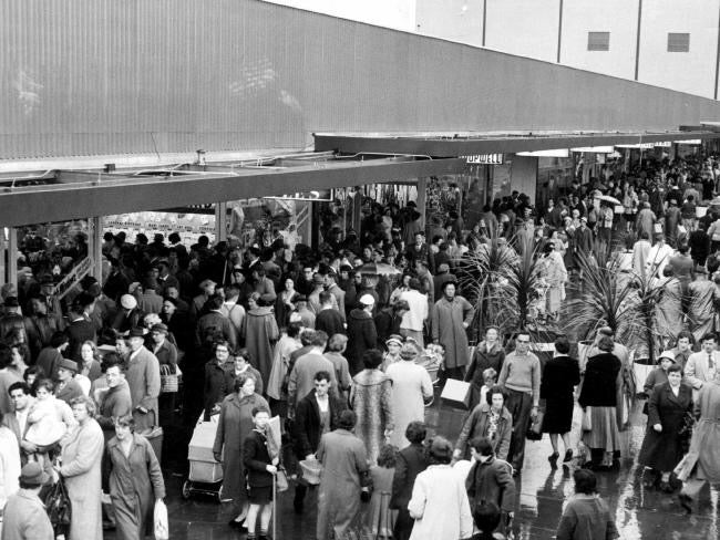 FLASHBACK: Melbourne Shopping Centres As They've Evolved