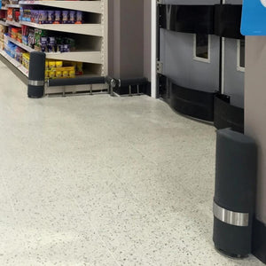 McCue Standard Corner Guard Retail Collision Protection Euroswift
