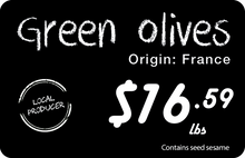 Load image into Gallery viewer, Olive Price Tag