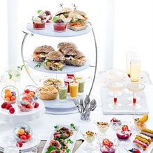 Load image into Gallery viewer, Dalebrook Stainless Steel Display Afternoon Tea Presentation Stand TSS3400