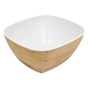 Dalebrook Tura 1/6GN Melamine Curved Buffet Display Crock Bowl Natural TWD7716O