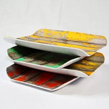 Load image into Gallery viewer, Dalebrook Tura Stacked Gastronorm Melamine Curved Deli Display Serving Tray Platter