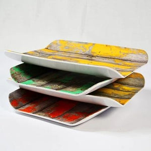 Dalebrook Tura Stacked Gastronorm Melamine Curved Deli Display Serving Tray Platter