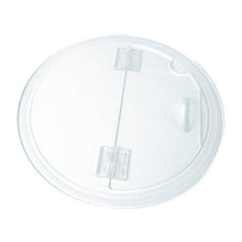 Load image into Gallery viewer, Clear Acrylic Hinged Barrel Bowl Lid - Dalebrook