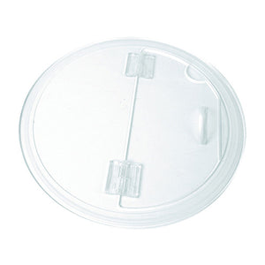 Clear Acrylic Hinged Barrel Bowl Lid - Dalebrook