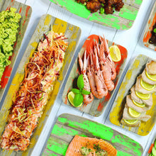 Load image into Gallery viewer, Dalebrook Tura Melamine Curved Deli Display Serving Tray Platter