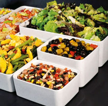 Load image into Gallery viewer, Dalebrook Kata Melamine Rectangular Buffet Display Serving Crock Platter