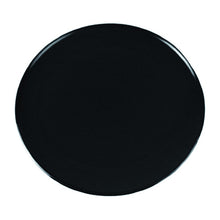 Load image into Gallery viewer, Dalebrook 305mm Dia. Melamine Round Cake Display Catering Serving Plate Black TB3215