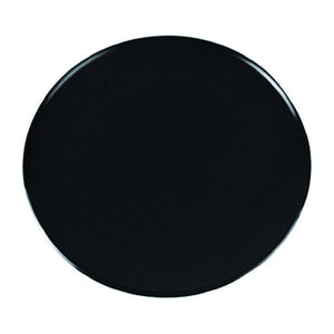 Dalebrook 305mm Dia. Melamine Round Cake Display Catering Serving Plate Black TB3215