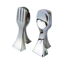 Load image into Gallery viewer, Dalebrook Zinc Combination Fork Spoon Ticket Clamp Placeholder TK30