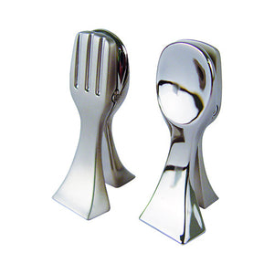 Dalebrook Zinc Combination Fork Spoon Ticket Clamp Placeholder TK30