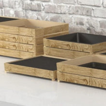 Load image into Gallery viewer, Tura Melamine 1/2GN Frame Crate Riser - Dalebrook