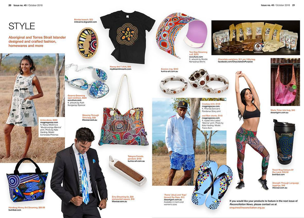 Reconciliation Australia magazine feature