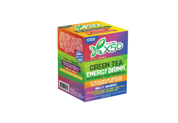 Green Tea X50 Assorted Box 30 Serve